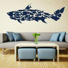 Shark Wall Decals Ocean Fish children Kids Room by AmazingWall, $39.00