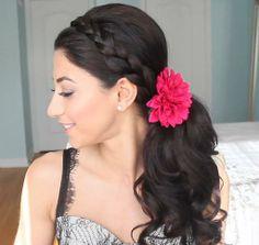 prom ready hair