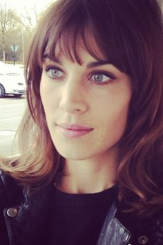 I'm in love with Alexa Chung! <3 Eight years now and does she email,does she call? and yet boring Pixie ..*harumph*