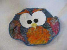 Owl Fabric Bowl