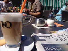 Sonne, Latte und Zeitung, Labbadia zum HSV. So kann es weiter gehen... #leonberg