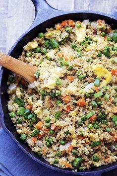 Quinoa Fried 'Rice'