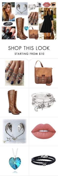 """""""#44"""" by ronnie-555 on Polyvore featuring SHARO, Monsoon, Alex and Ani, Lime Crime, Hot Topic and Phillip Gavriel"""