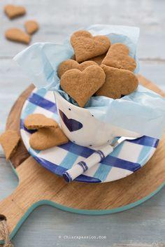 Biscotti vegani (Pasta frolla all'olio senza uova, senza burro e senza latte) - Chiarapassion