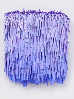 I want to do some colorful stuff with texture. Could use paper or popsicle sticks or something else that's flimsy...gonna have to make a trip to Michaels.