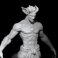 ZBrush Character WIP, Cristian Nestar on ArtStation at https://www.artstation.com/artwork/9QQ8a