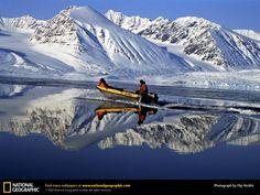 Svalbard Archipelago   Research Boat, Svalbard Archipelago, Norway, 1996