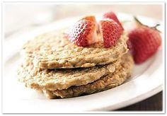 9 Healthy Pancake Recipes - Oatmeal Pancakes and Banana Applesauce Pancakes