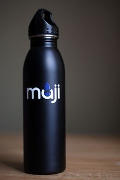 Maji Bottles donates five dollars from every stainless steel water bottle sold to charity:water.