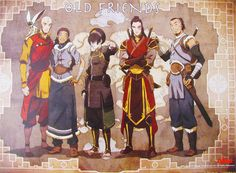 avatar avatar the last airbender toph zuko aang katara sokka avatar the legend of korra old friend Wallpaper HD Avatar Airbender, Avatar Aang, Team Avatar, Zuko And Katara, Art Manga, Manga Anime, Avatar Equipe, Legend Of Aang, Prince Zuko