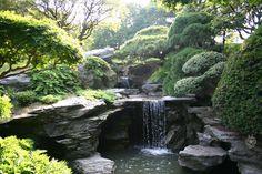 Japanese garden, peaceful