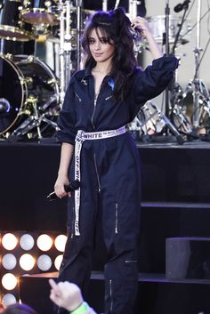 Camila Cabello performing on the Today Show