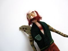 Dr. Phille  Physician to the Fairy Queen by MountainDolls on Etsy, $25.00