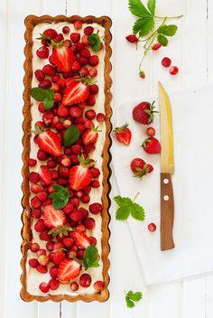 5 idées pour transformer vos tartes aux fraises Palet Breton, Bruschetta, Ethnic Recipes, Food, Shortbread, Essen, Meals, Yemek, Eten