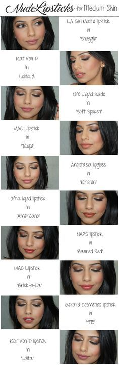 Nude Lipsticks For Medium/Brown Skin