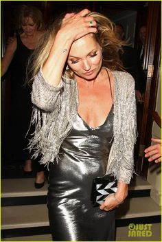 Kate Moss for Topshop after party, April 30 2014