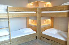 chambre quadruple iseran 1 et 3