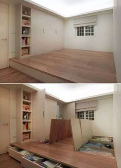 Dance studio / costume storage - a girl can dream