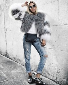 Yes to this warm and fuzzy coat.