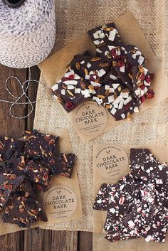 How-to Make Chocolate Bark /