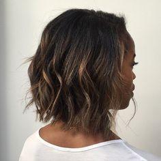 Gimme just a little bit perm - perfect with medium-short hair