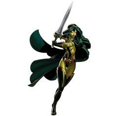 Classic Gamora - Guardians of the Galaxy  -  #guardiansofthegalaxy #marvelcinematicuniverse #kurttasche