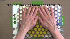 Gelli Printing with Crayon Resists