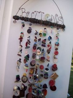 d.i.y. recycled button craft « HAUTE NATURE