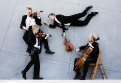 Nikolaj Lund's Portraits of Classical Musicians | Yatzer I The Danish String Quartet | photo © Nikolaj Lund