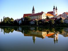 Telc, Czech Republic | town in the Moravia region of the South was created as a port town in the 14th Century to facilitate trade between Bohemia, Moravia, and Austria. The town's historic center boasts easter-egg colors and renaissance architecture.