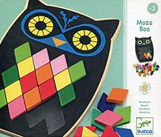 A wooden mosaic puzzle. Fine Motor Skills, Design Your Own, Tween, Little Ones, Puzzles, Great Gifts, Design Inspiration, Activities, Games