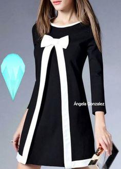 #Elegante #vestido #atemporal #moda #tendencia #casual #cómodo #fashións. - Àngela Gonzalez - Google+