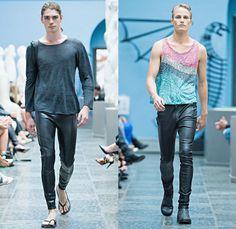 Mardou 2014 Spring Summer Mens Runway Collection - Oslo Fashion Week Norway Vår Sommer: Designer Denim Jeans Fashion: Season Collections, Runways, Lookbooks and Linesheets