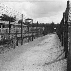 Former concentration camp Amersfoort. It became a detention centre for war criminals and collaborators after the German surrender.