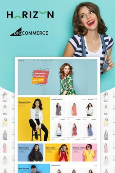 Buy Horizon Multipurpose Stencil Bigcommerce Theme by WinterInfotech on ThemeForest. Overview Horizon – Multipurpose Stencil Bigcommerce Theme is a modern, clean and professional BigCommerce theme is f. Ecommerce Website Design, Website Design Layout, Website Designs, Computer Theme, News Web Design, Design Design, Pose, Photoshop, Website Themes