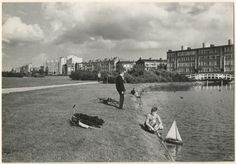 The Hague, Leiden, Delft, Netherlands, Holland, Dutch, Dolores Park, Street View, Black And White