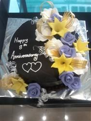 Chocolate With Flowers 1 Kg Special Birthday Cakes Cake Girls Delivery