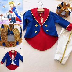Little prince costume The Little Prince Theme, Little Prince Party, The Little Prince Costume, Baby Prince Costume, Ballet Costumes, Baby Costumes, Halloween Costumes, Kids Dress Up, Baby Dress