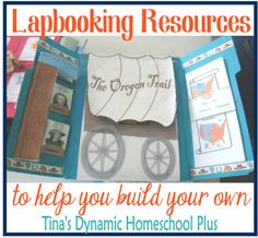Lapbook resources to build your own lapbook   #lapbooking #ihsnet