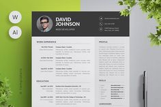Complete Resume Vol  By Hadinsuk Design On Graphicsauthor