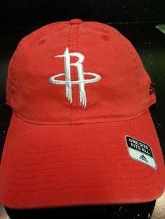 Houston Rockets NBA Adidas Flex Fitted Hat New