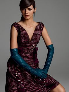 Kendall Jenner models classic style for Vogue US September 2015 by Inez & Vidoodh [editorial]