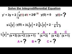 Electrical Engineering: Ch 16: Laplace Transform (58 of 58) Solve the In...