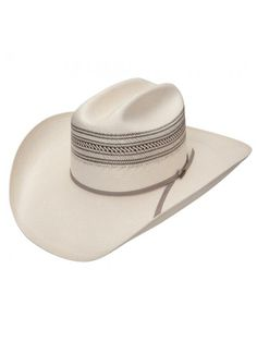 030b248c Resistol Trent – (10X) Straw Cowboy Hat | $127.98 | The natural and grey
