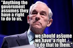 ron paul, quotes, sayings, inspiring, government