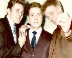 Billy Fury, Eddie Cochran, Joe Brown.