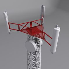 Mobile tower Model available on Turbo Squid, the world's leading provider of digital models for visualization, films, television, and games. Mobile Tower, 3d Mobile, Baby Registry Items, 3d Max, Ham Radio, Glass Art, Model, Projects, Modernism