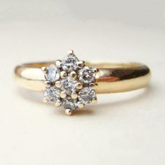 vintage ring. A coco diamond in the center would look great.