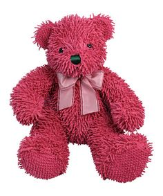 Rose Nublet Bear Plush Toy by Stephan Baby on #zulily today! aaawww so cute, they have it in blue too just in case