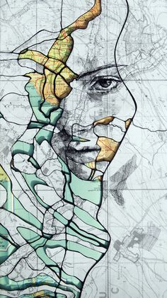 topographical portraits